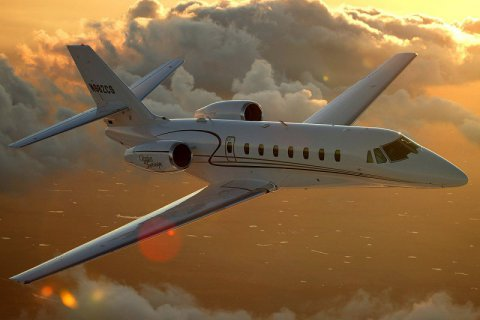 Empty leg from Northolt to Prague on Cessna - Citation Sovereign