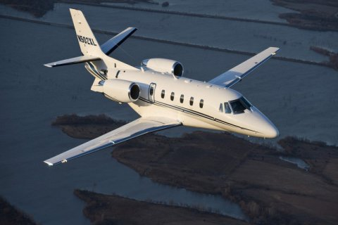 Empty leg from Moscow to Larnaca on Cessna - Citation XLS+