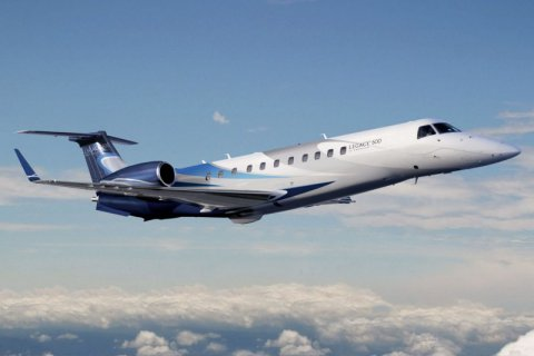 Empty leg from Paris to Teterboro NY on Embraer - Legacy 600