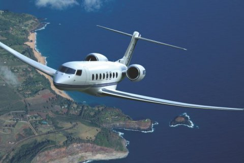 Empty leg from Biggin Hill to Teterboro NY on Gulfstream - G650