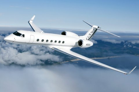 Empty leg from Teterboro NY to Milan on Gulfstream - GV/G550