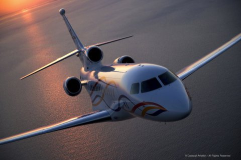 Empty leg from Paris to Moscow on Dassault - Falcon 7X