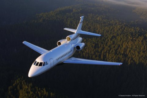 Empty leg from Geneva to Moscow on Dassault - Falcon 900EX