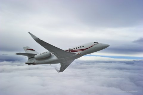 Empty leg from Van Nuys to London on Dassault - Falcon 2000LX