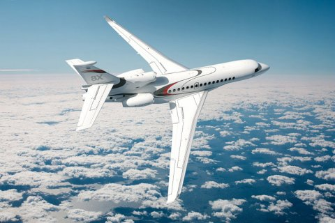 Empty leg from Bedford to London on Dassault - Falcon 8X