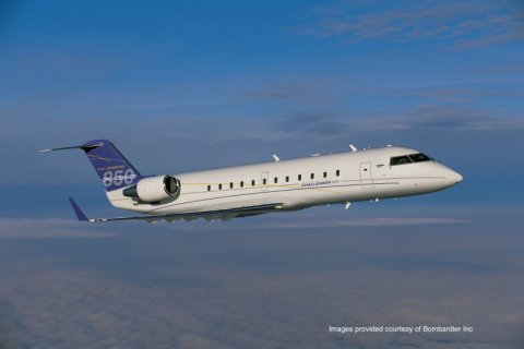 Empty leg from Southend to Nice on Bombardier - Challenger 850